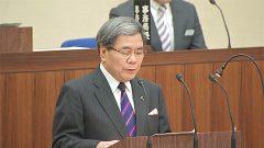 県議会開会 過去最大規模の当初予算
