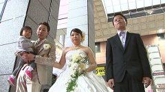 シリーズ『ふるさとは負けない』1組の夫婦に結婚式のプレゼント