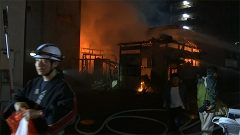 人吉市で住宅全焼 3人搬送