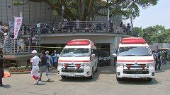 熱中症で病院搬送相次ぐ 熊本市