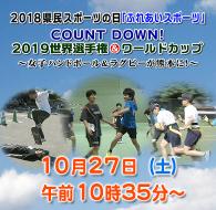 2018県民スポーツの日「ふれあいスポーツ」