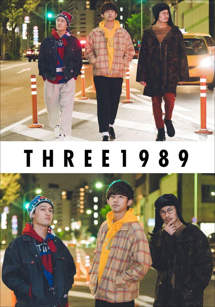 "THREE1989""KISS""RELEASE LIVE in KUMAMOTO"