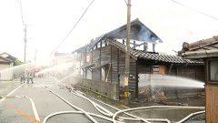 熊本市と八代市で火事相次ぐ 住宅2棟全焼