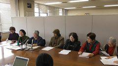 熊本市欧州視察 公開質問状の回答受け市民団体が会見