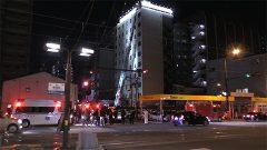 熊本市中心部のホテルで火災 一時騒然