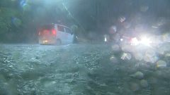1時間に50ミリの雨 熊本市で冠水・停電